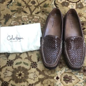 Cole Haan brown loafers size 6.5